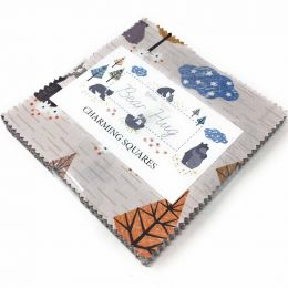 Bear Hug Fabric | Charming Squares