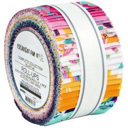 Robert Kaufman Fabric Roll Up   Escargot For It