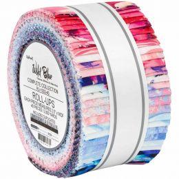 Robert Kaufman Fabric Roll Up | Wishwell Wild Blue