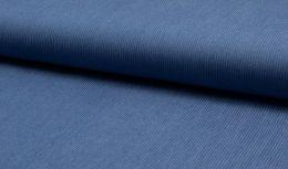 Chambray Tencel Fabric Stripe | Mid Blue