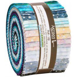 Robert Kaufman Fabric Roll Up | Sparkle Silver