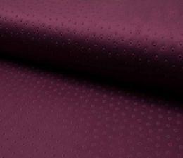 Suede Fabric 3D Embossed | Rich Aubergine