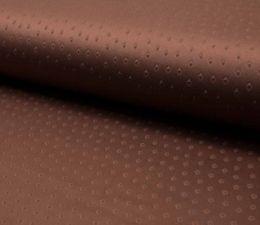 Suede Fabric 3D Embossed | Mature Cognac