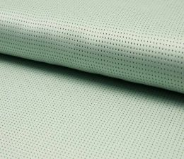 Suede Laser Punched Fabric | Mint