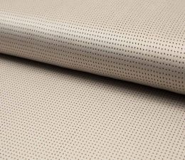 Suede Laser Punched Fabric | Sand