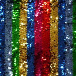Rainbow Strip Sequin