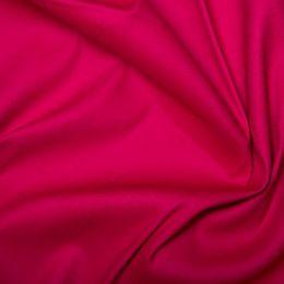 Cotton Sateen Stretch - Dressweight | Cerise