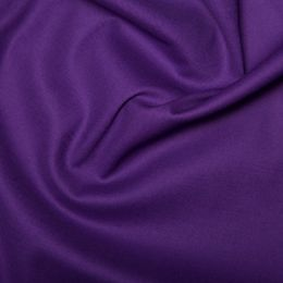 Cotton Sateen Stretch - Dressweight | Purple