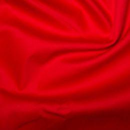 Cotton Sateen Stretch - Dressweight | Red