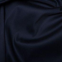 Cotton Sateen Stretch - Dressweight | Navy