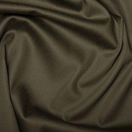 Cotton Sateen Stretch - Dressweight | Khaki