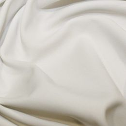 Dull Spandex Activewear Fabric | White