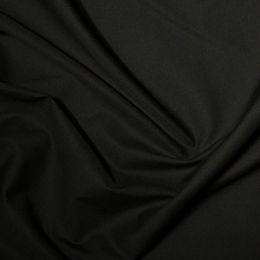 Classic Polycotton Fabric Wide Width   Black