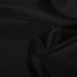 PU Coated Water-Repellent Polyester Fabric Heavy   Black