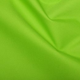 PU Coated Water-Repellent Soft Polyester Fabric | Lime