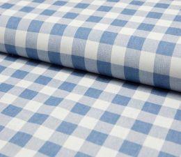 Denim Fabric | Broad Check Light Jeans