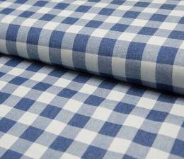 Denim Fabric | Broad Check Mid Jeans