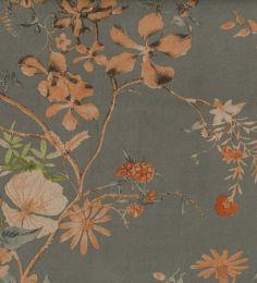 Scuba Suede Fabric Print | Autumn Garland