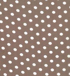 Crepe Chiffon Lightweight   Spot Taupe