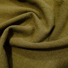 Premium Stonewashed Linen Fabric | Khaki
