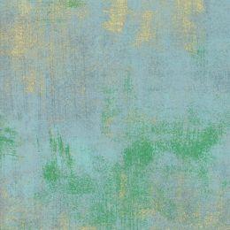 Moda Fabric Grunge Metallics   Blue