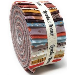The Old Chocolate Shop Fabric | Jelly Roll