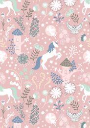 Lewis & Irene Jersey Fabric | Fairy Lights