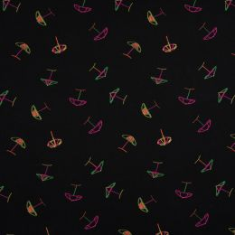 Jersey Cotton Fabric   Parasol Neon
