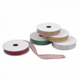 Trimmings Bundle Metallic Ribbon - 5 Roll Pack