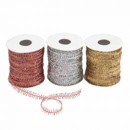Trimmings Bundle Metallic Twine - 3 Roll Pack