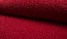 Luxury Boucle Coating Fabric | Red
