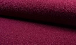 Luxury Boucle Coating Fabric | Dark Fuchsia