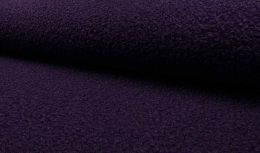 Luxury Boucle Coating Fabric | Purple
