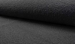 Luxury Boucle Coating Fabric | Dark grey