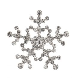 Diamante Buttons | Snowflake