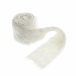 Faux Fur Rolls, 2m x 80mm   Cream