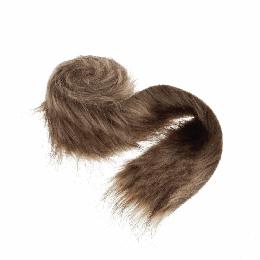 Faux Fur Rolls, 2m x 80mm | Brown