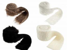 Faux Fur Rolls, 2m x 80mm | 4 Roll Treat