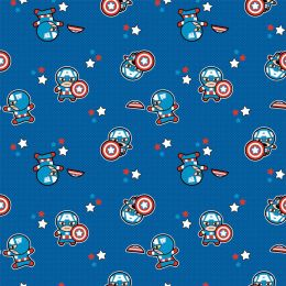 American Touch Flannel | Captain America Blue