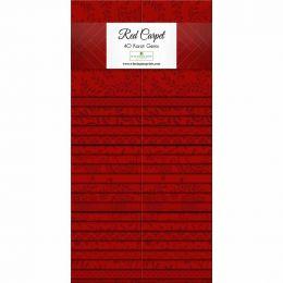 Fabric Strip Pack   Red Carpet