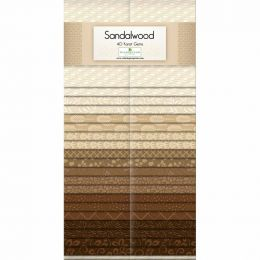 Fabric Strip Pack | Sandalwood