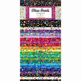 Fabric Strip Pack   Glass Beads