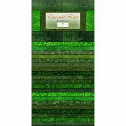 Fabric Strip Pack   Emerald Forest