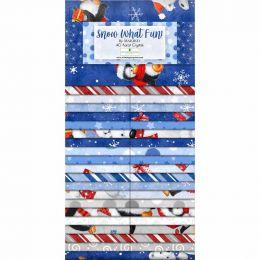 Fabric Strip Pack | Snow What Fun
