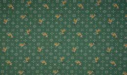 Jersey Cotton Fabric | Reindeer Green