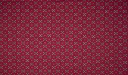 Jersey Cotton Fabric | Stylised Floral Magenta