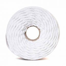 Cotton Macrame Cord 500g | White