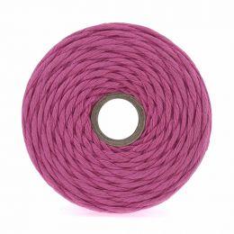 Cotton Macrame Cord 500g | Fuchsia