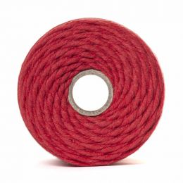 Cotton Macrame Cord 500g | Red