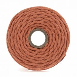 Cotton Macrame Cord 500g | Orange